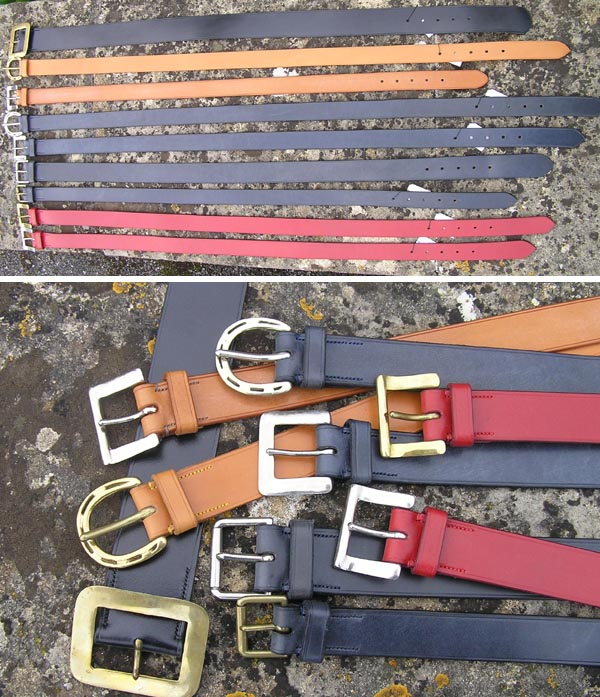 Lovely leather belts