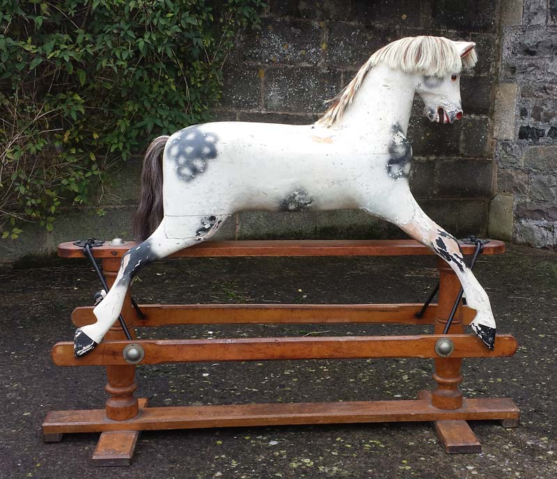 Crispin - Lines rocking horse