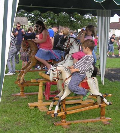 Keeping children happy at the Cranmore fete