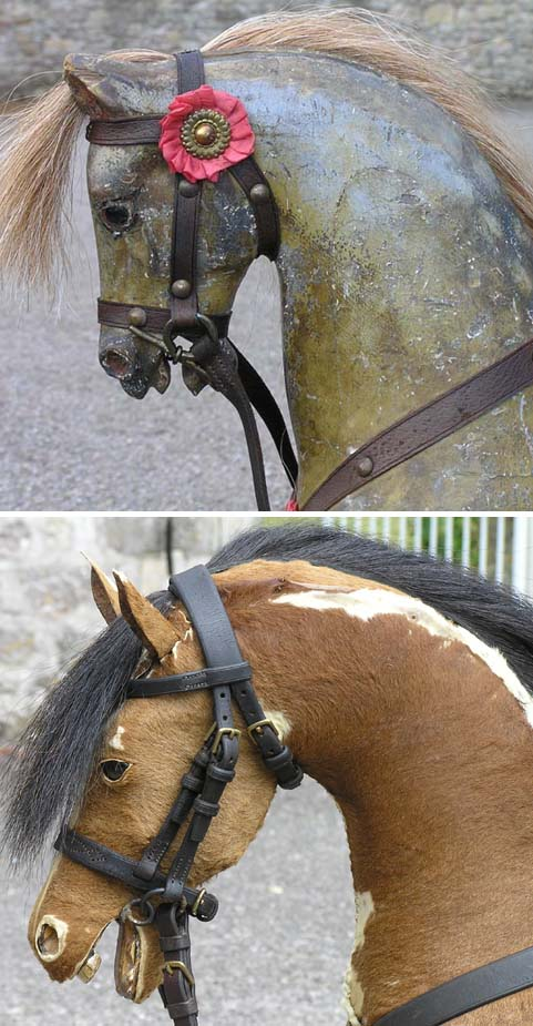 New bridles made from old leather