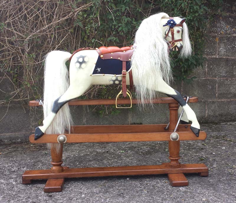 Lines rocking horse