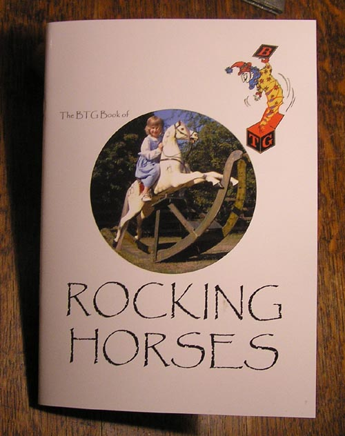 Tony Dew rocking horse book