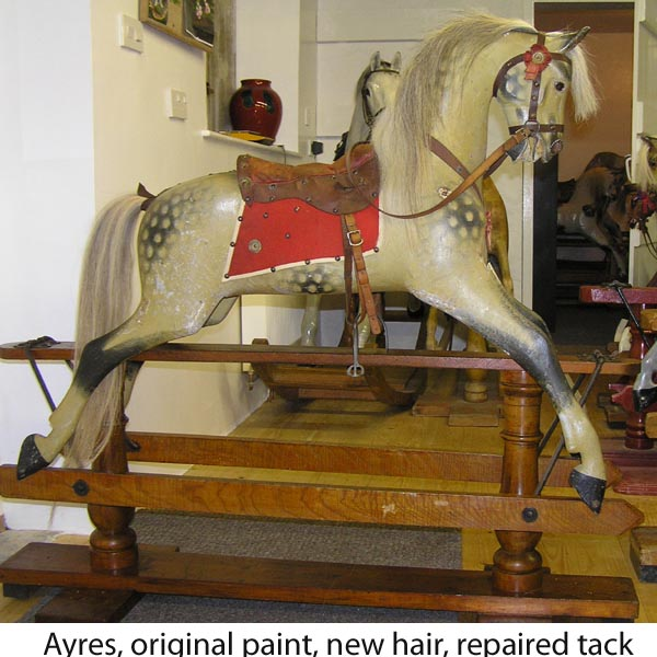 Ayres rocking horse original paint