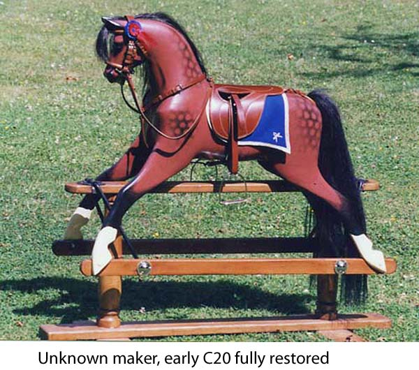 Unknown maker rocking horse
